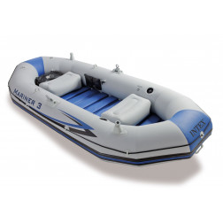 Bote Inflable Mariner 3pers. Con Remosinfl. Intex