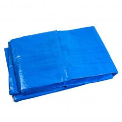 Lona Multiuso 5x6 Azul Ojetillos Bighouse