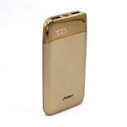 Power Bank Lcd 10.000mah Gold Fiddler