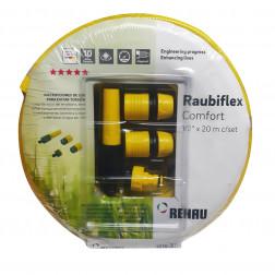MANGUERA J. 1/2 RAUBIFLEX AMARILLA C/ACC (ROLLO 20MT) REHAU