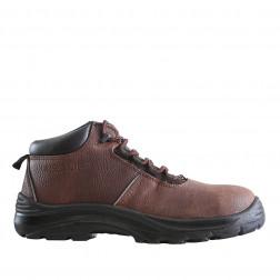 Zapato Seguridad Thor N43 Cafe Pu Nazca